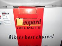 Ladies Motorcycle Helmet by Leopard