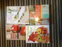 Set of 4 sewing (craft) books