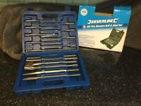 Silverline sds plus masonry drill and steel set