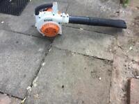 Stihl petrol garden blower