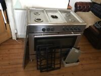 For Sale Ikea Five Ring Gas Hob Stainless Steel Range