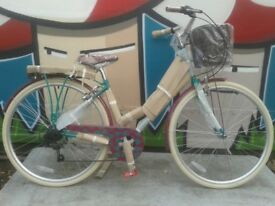 New Elswick Deluxe Ladies Traditional Hybrid Comfort Heritage Bike 700c - RRP £284