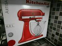 KitchenAid 4.8L Candy Apple Red Food Mixer