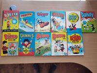 Various Beano / Dandy / Beezer Annuals 1966 - 1987
