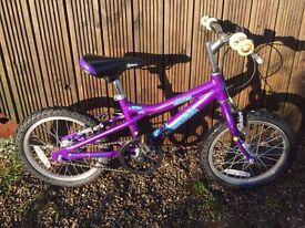 """Dawes 16"""" Blowfish aluminium frame kids bike (4-7 years)"""