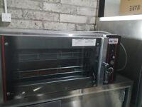 Cuisine de France double Rack single phase bake-off oven seller refurbished.