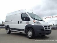 2014 Ram ProMaster 1500 3.0L Diesel High Roof Cargo w/Only 1300k