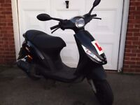 piaggio zip 2t 50cc scooter/moped