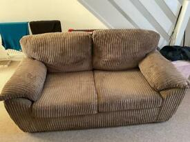 2 seater sofa no rips or tears