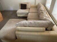 Large wraparound/ corner sofa