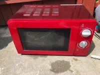 Asda red microwave