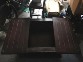 Coffee table chest