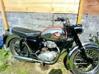 BSA c15 1958 250cc with c15t trials engine classic