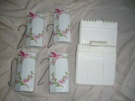 Hanging radiator vases for making a room smell nice, all lot for £2