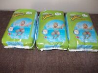 Three new pack of Huggies little swimmers