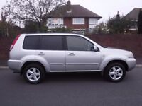 NISSAN X TRAIL 4X4 2.5 SVE MEGA SPEC ++ 1 OWNER FROM NEW + 12 MAIN DEALER SERVICE STAMPS ++ STUNNING