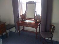 dressing table mahogany antique £225