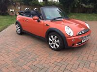Mini convertible 1.6 lovely car must be seen