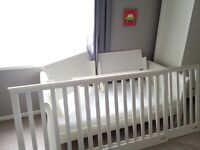 Baby Cotbed/ Cot Bed and Matching Unit