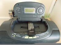 panasonic cd radio and cassette player.
