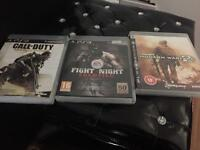 PS3 games call of duty fight night modern warfare 2