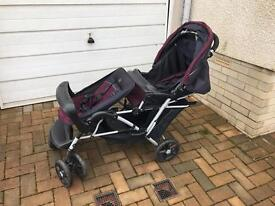 Double Buggy Pushchair