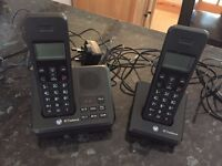 BT Freelance Phone with Answer Machine and second Phone