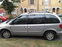 Chrysler voyager 2.5cc diesel 7 seater 2001 51 plate July mot 2017 £695 MAY PX