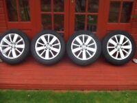 VW golk MK6 Alloy Wheels Excellent condition