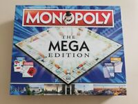 Monopoly The Mega Edition - as new