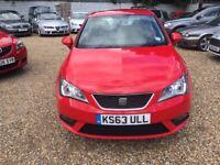 SEAT IBIZA 1.4 16v Toca SportCoupe 3dr (red) 2013