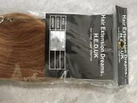 HED Hair Extensions Clip-in Human Hair