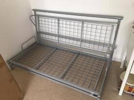 Metal futon/sofa bed frame