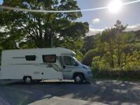 Motorhome / camper available to hire / rent from 31st August 2020