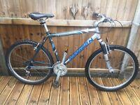 Saracen Mens Mountain Bike Aluminium Shimano