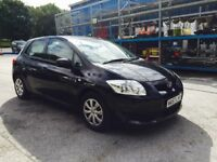 08 Toyota auris 1.4 d4d Diesel fvsh cheap Insurance 58 mpg cheapest in uk warranty available