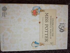 Beatrix potter Album complete with coins