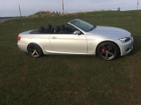 BMW 320i m sport convertible low miles 47800,