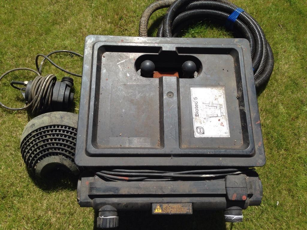 Biotec uv pond filter a buy sale and trade ads great prices for Used pond filter for sale