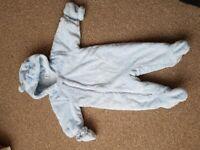 3-6 months baby snowsuit
