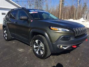 2015 Jeep Cherokee LEASE ME FOR$229.00 BI-WEEKLY O.A.C.|LEATHER