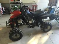 175cc atv with custom rad and battery asking $900 will go lower