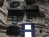 Gameboy advance and Nintendo ds lite