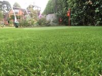 Artificial grass off cuts made in Holland. Quality very realistic looking and hard wearing.