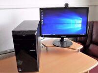 ASUS i3 DESKTOP PC COMPUTER