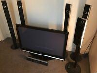 Samsung Plasma TV 50 inches with surround sound/home cinema Ps50Q7HD model