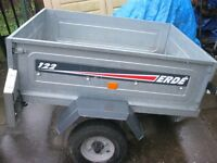 ERDE CAR TRAILER IN VERY GOOD CONDITION