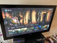 50'' Samsung TV Television fully working with remote and cable