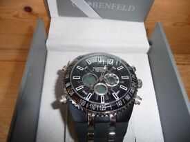 "GLOBENFIELD ""JETMASTER"" QUALITY SPORTS WATCH BOXED UNUSED see details"