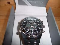 """GLOBENFIELD """"JETMASTER"""" QUALITY SPORTS WATCH BOXED UNUSED see details"""